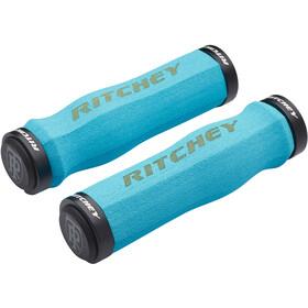 Ritchey WCS Ergo True Grip Handvatten Lock-On, blauw/turquoise